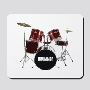 drum kit Mousepad