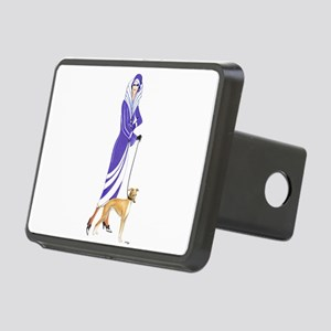 Maude and Sox Rectangular Hitch Cover