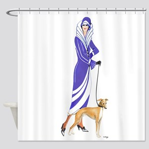 Maude and Sox Shower Curtain