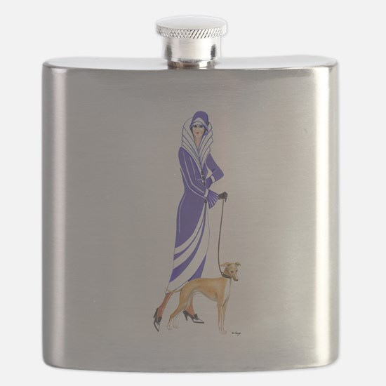 Maude and Sox.png Flask