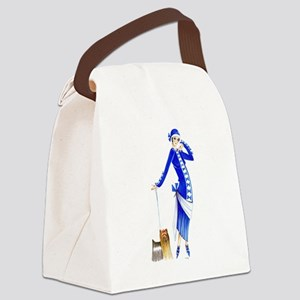 Yvette Canvas Lunch Bag