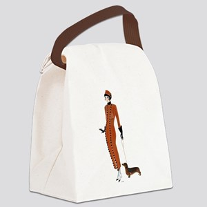 Tilly and Franz Canvas Lunch Bag