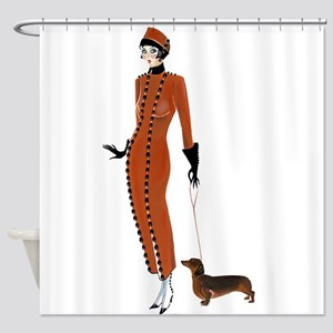 Tilly and Franz Shower Curtain