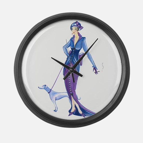 Grace.png Large Wall Clock
