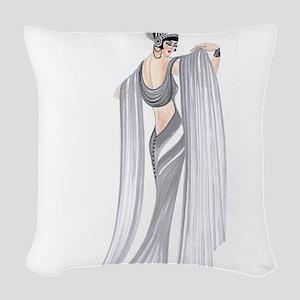Selene Woven Throw Pillow