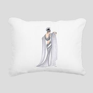 Selene Rectangular Canvas Pillow