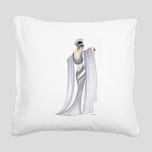Selene Square Canvas Pillow