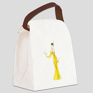 Daphne Canvas Lunch Bag