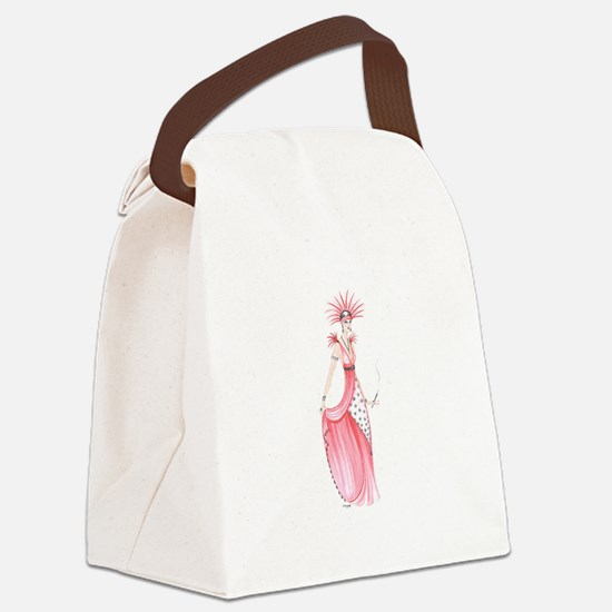 adele.png Canvas Lunch Bag