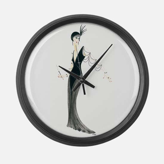 Josephine.png Large Wall Clock