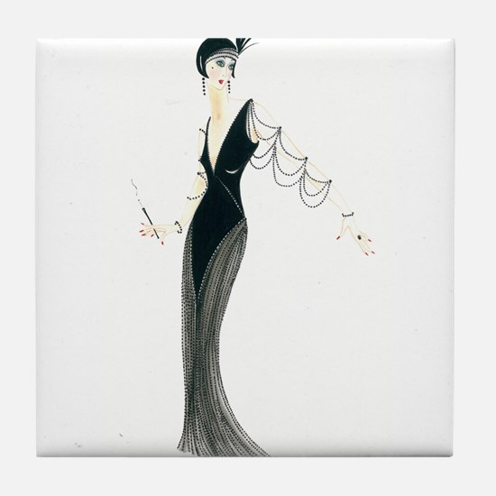 Josephine.png Tile Coaster
