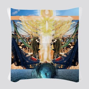 Fishers of Men Woven Throw Pillow