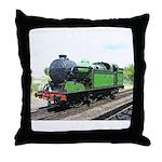 Steam train, Railway gifts Throw Pillow