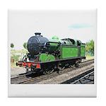 Steam train, Railway gifts Tile Coaster