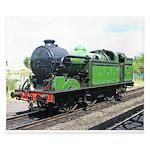 Steam train, Railway gifts King Duvet