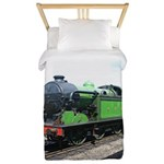 Steam train, Railway gifts Twin Duvet