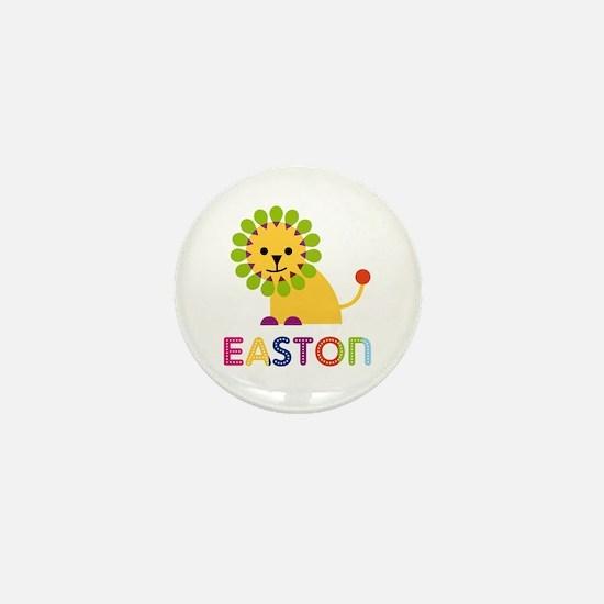 Easton Loves Lions Mini Button