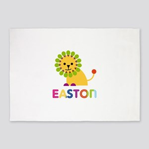 Easton Loves Lions 5'x7'Area Rug