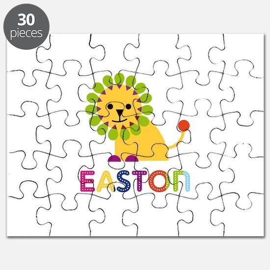 Easton Loves Lions Puzzle