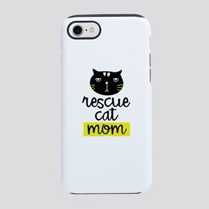 Rescue Cat Mom Tshirt Gift iPhone 7 Tough Case
