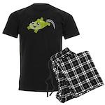 Cute green frog pajamas