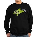 Cute green frog Jumper Sweater