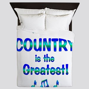 Country is the Greatest Queen Duvet