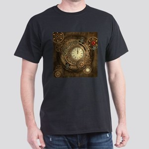 Steampunk, clockwork with gears T-Shirt