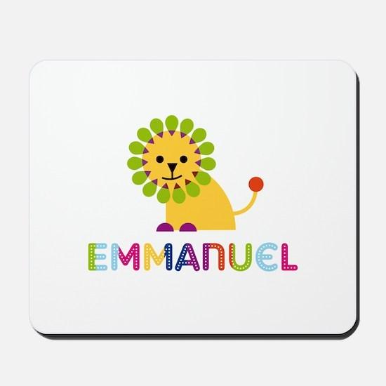 Emmanuel Loves Lions Mousepad