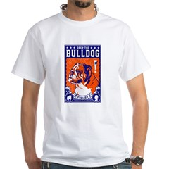 Obey the English Bulldog! White T-Shirt