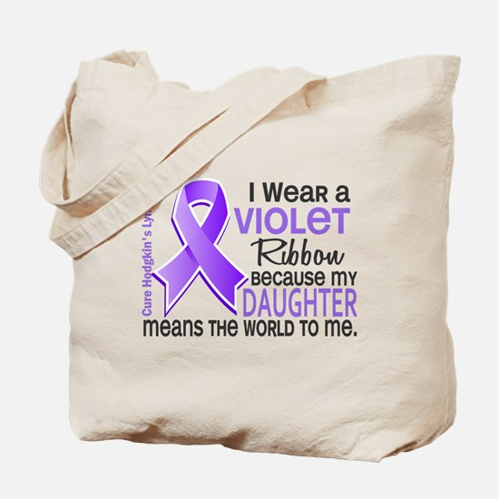 LO Means World H Lymphoma Tote Bag