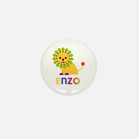 Enzo Loves Lions Mini Button