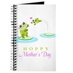 Hoppy Mothers day frogs Journal