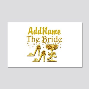 THE BRIDE 20x12 Wall Decal