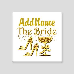 """THE BRIDE Square Sticker 3"""" x 3"""""""