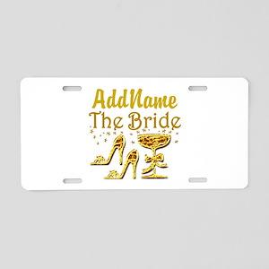 THE BRIDE Aluminum License Plate
