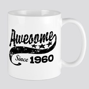 Awesome Since 1960 Mug