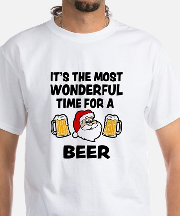 It's the most wonderful time for a beer fu T-Shirt