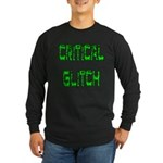 Critical Glitch Logo Long Sleeve T-Shirt