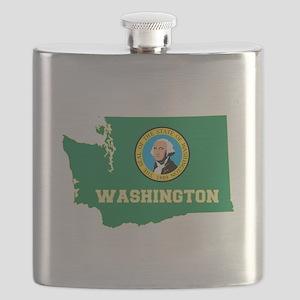 Washington Flag Flask
