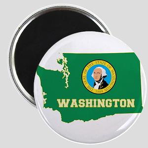 Washington Flag Magnet