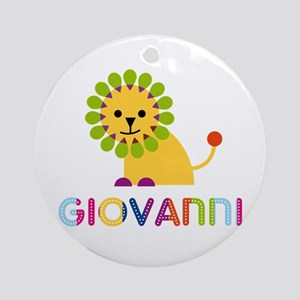 Giovanni Loves Lions Ornament (Round)