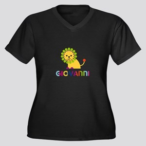 Giovanni Loves Lions Plus Size T-Shirt