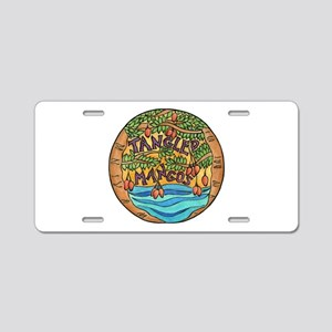 Tangled Mangos Aluminum License Plate