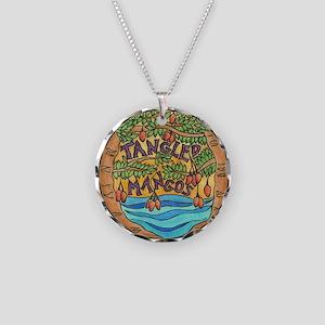 Tangled Mangos Necklace Circle Charm