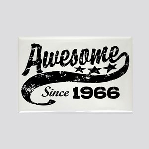Awesome Since 1966 Rectangle Magnet