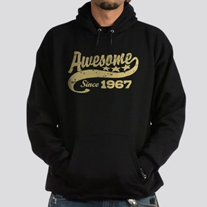 Awesome Since 1967 Hoodie (dark)