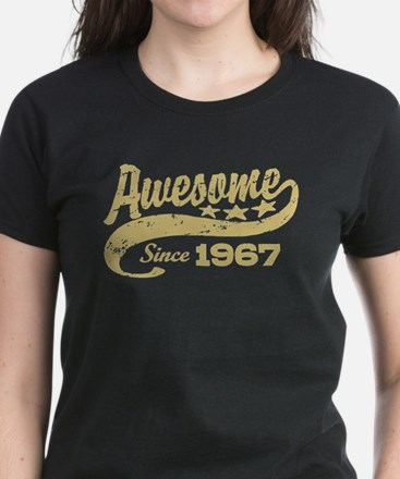 Awesome Since 1967 Women's Dark T-Shirt