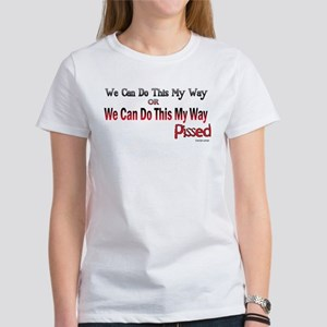 Stage Crew My Way Women's T-Shirt