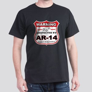 protected by ar14 shield T-Shirt